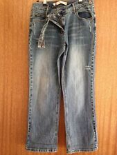 Republic, 3/4 length CAPRI / CROPPED, DISTRESSED, Ladies JEANS Size a small 12