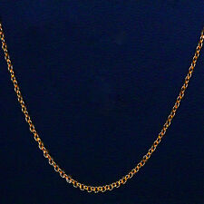 Kapa Jewellery 22 inch 18ct Gold Necklace 2mm thick Curb Chain  A1