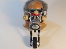 German Sitting Smoker - biker chopper motorcycle Volkskunst Seiffen