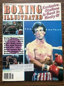 Vintage Boxing Illustrated June 1982 - Sylvester Stallone Rocky III