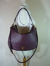 NWT Furla Bordeaux Pebbled Leather Jo Hobo Bag $448