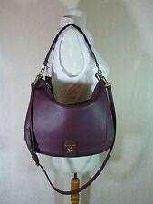 NWT Furla Bordeaux Pebbled Leather Jo Hobo Bag $448
