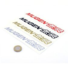 Honda Mugen Sticker Car Cut Vinyl Decals 150mm x2 JDM Drift Tuning VTEC