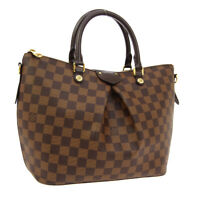 LOUIS VUITTON SIENA MM 2WAY HAND BAG RI1167 PURSE DAMIER CANVAS N41546 AK38039a