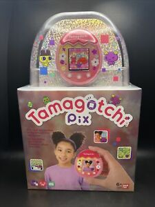 Tamagotchi Pix 42901 BANDAI Tamagotchi Virtual Pet in Pink - NEW 2021!