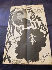 Partitura Cabañas Dedicamos De Denis Alava Music Sheet