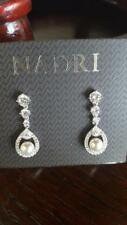 NEW!!! Nadri Lily Faux Pearl Crystal Drop Earrings