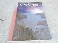 DEC 6 1952 NEW YORKER magazine - DUCKS