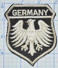 "GERMANY, WHITE EAGLE ON BLACK BACKROUND DEUTSCHLAND 3.75"" VINTAGE PATCH"