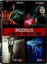 Insidious: 4-Movie Collection (Patrick Wilson) DVD | Box Set - Horror Film