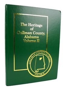 Heritage of Cullman County, Alabama Vol. II - History - Families - Photographs