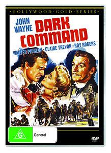 BRAND NEW Dark Command (DVD, 1940) R4 John Wayne Movie