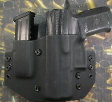 Hunt Ready Holsters: CZ P07 LH OWB Holster with Extra Mag Carrier