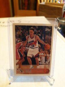 Steve Nash Rookie Card 1996-97 Topps #182 HOF !! NEW COACH.