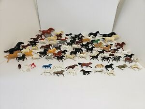 99 Toy Horses and  Saddles 1:32 Scale Reissue Reproduction Marx, MPC, ETC.
