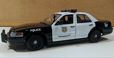 Cleveland OH Police Custom 1/24 Scale Motormax Ford Crown Victoria