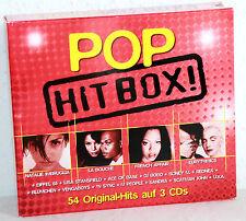 3 CD-Box - POP HIT BOX! - 54 Original-Hits