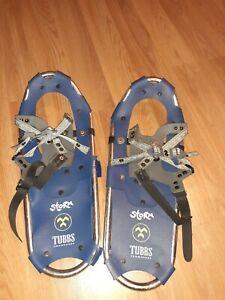 """TUBBS Kids Storm Snowshoes 18"""" Blue"""