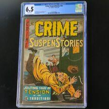 Crime SuspenStories #26 (EC 1954-55) 💥 CGC 6.5 OW 💥 Jack Kamen Cvr! Golden Age