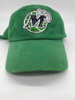 🏀Vintage Retro Dallas Mavericks Women's Strap Back Hat Cap Bling NBA Basketball