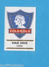 FOOTBALL CLUBS-PANINI 1975-Figurina n.61- COLO COLO  CILE -SCUDETTO-Rec