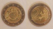 Alemania 2 euros 2012, diez años D Euro * 1349 *.