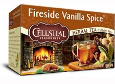 CELESTIAL SEASONINGS Fireside Vanilla Spice Herbal Tea Caffeine Free 100 Tea Bag