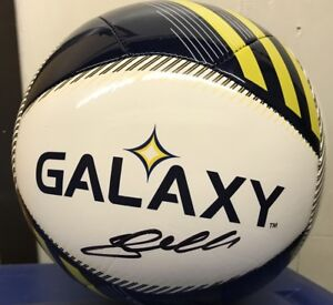 Steven Gerrard Signed LA Galaxy Soccer Ball With Exact proof