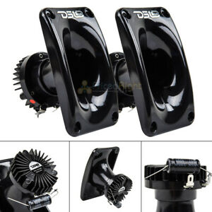 "2 DS18 PRO-DKN25 1"" Super Drivers with Horn Compression Drivers Tweeters 8 Ohm"