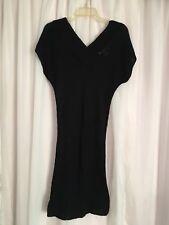 Newport News Knit Black Sweater Dress-nwot