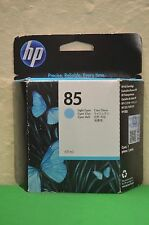 HP 85  Light Cyan Original Ink c9428a  Designjet 30 90 130 Date 2015
