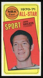 1970 Topps #112 John Havlicek All Star Ex/MT