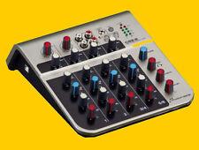 Studiomaster C2S-2 USB  6-Kanal-Ultra Kompakt Mini Mixer Mischpult NEU-OVP !