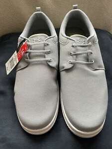 Under Armour New W Tags Men's Size 14 Tennis Shoes. Grey. No Tie Up. Slip On