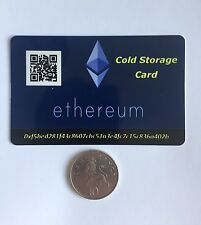 Ethereum Offline Wallet - Cold Storage