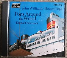 Boston Pops John Williams 1st First Pressing Philips Blue Face 400 071 Clean