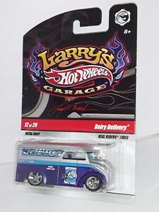 """H.W. ( Dairy Delivery ) , Chase ,"""" Larry's Garage """" # 12 of 20 , Purple & Silver"""