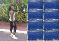 3 Blu Bomber Cake Blue Soap Bars Laundry Hand Jamaican Favourite