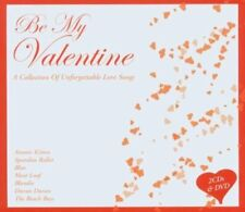 DCD + DVD Be My Valentine a collection of unforgettable LOVE SONGS