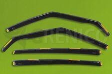 Saute vent FORD S-Max Mk I 5-porte 2010-2015 4-tlg HEKO Foncé Déflecteurs