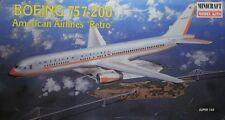 Minicraft 1 144 Aereo Boeing 757-200 American Airlines Retro Art. 14463