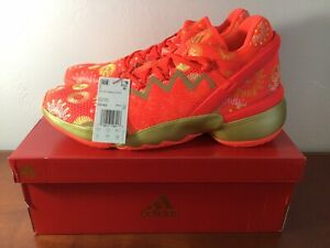 Adidas D.O.N Issue #2 FX7425 Explosives Orange Basketball Shoes Men's Size 12