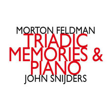 Morton Feldman : Morton Feldman: Triadic Memories & Piano CD 2 discs (2017)