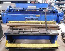 10411 Cincinnati 6 X 38 Mechanical Shear