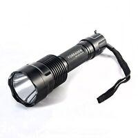 Forrader C12 CREE XM-L2 U3 Super-bright 2000 Lumens LED Flashlight Torch Light w