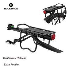 ROCKBROS Quick Release Carrier Seat Post Mount Pannier Bike Rear Racks Max 75KG
