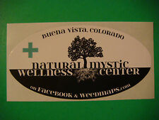 STICKER <^::^> NATURAL MYSTIC Wellness Center ~ Marijuana Dispensary in COLORADO