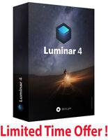 Luminar v4 Photo Editor 2020 Full Version LifeTime for Windows ✅ Fast delivery ✅