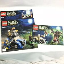 Lego Monster Fighters Instructions 9463 9466 Instructions Only