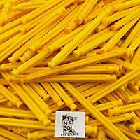 "400 Knex Premium Yellow 3-7/16"" Rods - Standard K'nex Parts Lot"